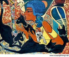 Touching Egypt, paintings by Fattah Hallah Abdel - 13