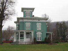 John Fertig 1873 historic home. Titusville, PA.