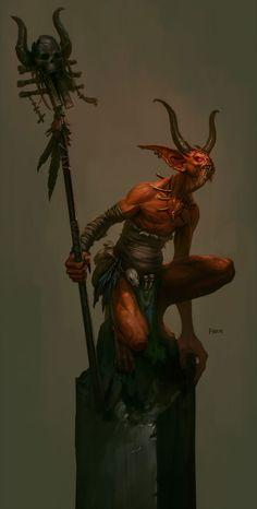 Fallen Shaman from Diablo III