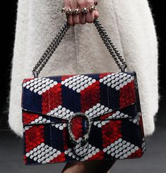 Gucci's Fall 2016 Runway was Yet Another Dazzling Display of Detailed Bags