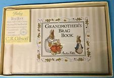 Vintage Beatrice Potter Grandmother's Brag Book Peter Rabbit Baby CR Gibson NIB in Baby, Keepsakes & Baby Announcements, Baby Books & Albums | eBay