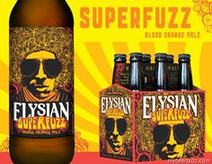 Elysian Superfuzz Blood Orange Pale - I love Blood Oranges, I can't wait for this! Coming 4/01/2013