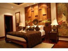 Luxury Thai Bedroom ~ Surin Beach Jungle Villa