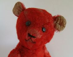 I could knit a red bear...