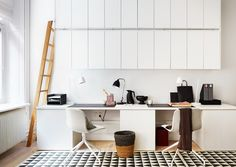 One Pic Wednesday: Home Office in White - emmas designblogg