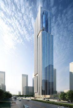 Bravo Pazhou in Guangzhou, China unites two functions into one spectacular composition | Aedas | Archinect