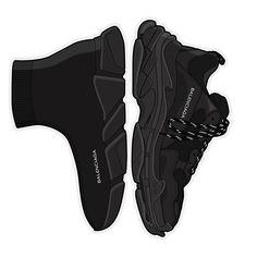 Balenciaga sneakers for Men Sneakers Wallpaper, Shoes Wallpaper, Sneakers Sketch, Balenciaga Sneakers, Hypebeast Wallpaper, Sneaker Art, Hype Shoes, Dope Art, Trainers