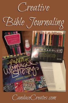 Creative Bible Journaling: Getting started and basic supplies... CandaceCreates.com