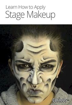 How to Apply Stage Makeup