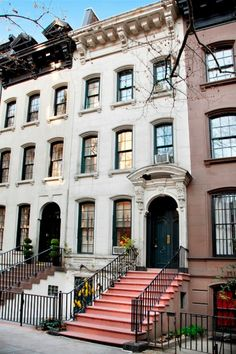 { 169 East 71st  St. New York  For Sale: Breakfast at Tiffany's Townhouse }