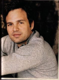 Mark Ruffalo..... Matt from 13 going on 30. :) #handsome