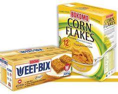 Bokomo Wheat Bix and Corn Flakes