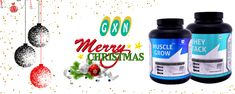 Thank you for trusting our products. We will endeavor to exceed your expectations in the coming year. Merry Christmas from GXN. #WheyStack #ArmourWhey #MuscleGrowPlus