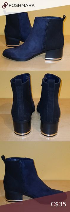Check out this listing I just found on Poshmark: Aldo - NWOT Beautiful Dark Blue Suede Booties. #shopmycloset #poshmark #shopping #style #pinitforlater #Aldo #Shoes Plus Fashion, Fashion Tips, Fashion Design, Fashion Trends, Aldo Shoes, Blue Suede, Suede Booties, Chelsea Boots, Dark Blue