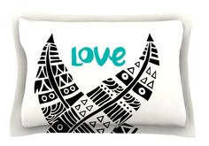 United Love by Pom Graphic Design Tribal Cotton Pillow Sham