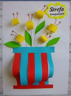 Bee Crafts For Kids, Christmas Crafts For Kids To Make, Paper Crafts For Kids, Diy And Crafts, Diy Birthday Decorations, Diy Crafts Jewelry, Craft Work, Spring Crafts, Origami