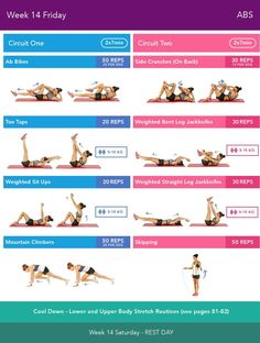 Week 15 Friday Bikini Body Guide by Kayla Itsines weeks (complete Source by body workout Fitness Workouts, Bbg Workouts, Fitness Motivation, Weight Workouts, Bikini Body Guide, Bikini Body Workout Plan, Kayla Workout, Kayla Itsines Workout, Workout Schedule