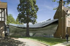 middle east center bridge building in oxford by zaha hadid breaks ground - designboom   architecture