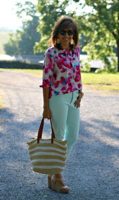 22 DAYS OF SUMMER FASHION-FLORAL AND STRIPES