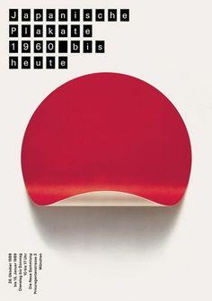 (2) Japanese Posters 1960 to Today, exhibition poster, 1989. Die Neue Sammlung, Munich. | Poster | Pinterest