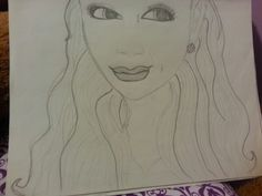 Ariana Grande  The lips are messed up Lol I tried