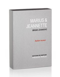 Marius & Jeannette Rubber Incense by Frédéric Malle