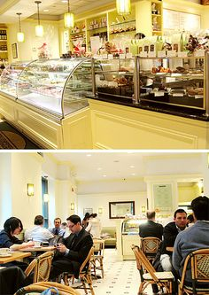 Financier Patisserie, for favorite tea cakes.