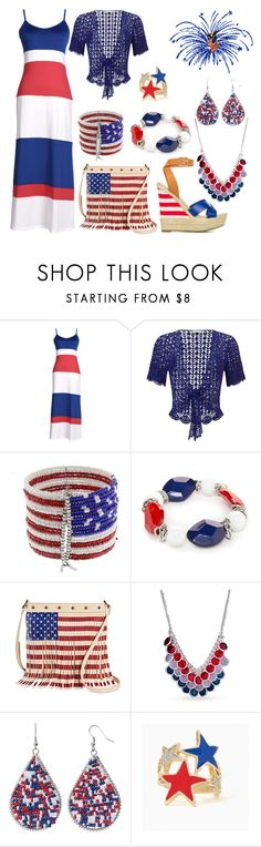 """Fireworks Ready"" by donnalynnginn ❤ liked on Polyvore featuring Jacques Vert, Mixit, Kim Rogers and Twig & Arrow"