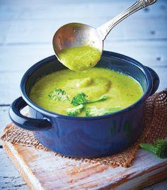 Una típica crema de brócoli con el toque especial de Cocina Fácil.