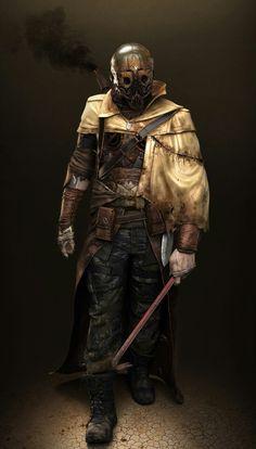Post-apocalypse warrior