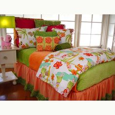girls+hawaiian+bedding   Hawaiian Poodle Bedding and Nursery Kid Sets in Bedding : Bedding For ...