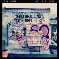 "@abenzion's photo: ""Don't forget it! #dramafree #graffiti #latergram""  www.whyiheartnyc.com"