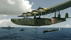 Kawanishi H8K was an Imperial Japanese Navy flying boat used by the Imperial Japanese Navy Air Service during World War II