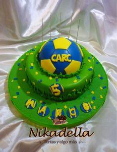 torta Rosario Central.