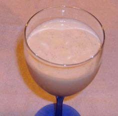 Amarula Dom Pedro from Food.com:   								A popular South African drink available in restaurants and bars everywhere.  I sound like a commercial.