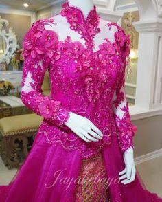 Wedding Dress kebaya Modern Indonesia 2016 - Toska