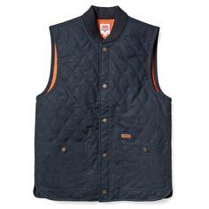Carhartt Vest. can take a lickin', simple. no frills...now get back to work, @Kurt Miller von Schleicher!