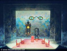 Albert Herring. University of Cincinnati-CCM. Scenic design by Thomas C. Umfrid. 1997