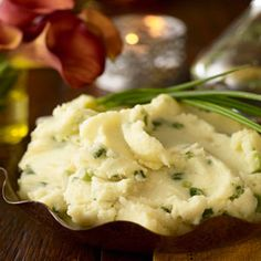 Mashed cauliflower is a great alternative to mashed potatoes! This is perfect for those who love their mashed potatoes…but care about their waistline. Using cauliflower instead of potatoes cuts the carbs immensely and you'll be amazed with how similar they taste.  No need to follow the recipe exactly, just base it on how you like your potatoes. The only important step is substituting cauliflower for the potatoes…be sure not to neglect that!    See if you can fool your family into thinking…