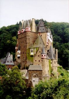 Cool Gothic Castles | My favorite castle, Mount St. Michael on the northern coast of France ...