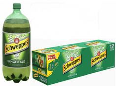 $1 off Schweppes Ginger Ale 12-Pack Cans OR 2 Liter Bottles Coupon on http://hunt4freebies.com/coupons