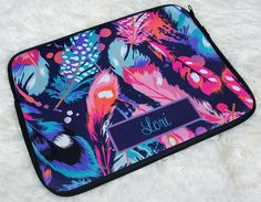 Did you know we also offer Monogram Laptop Sleeves?
