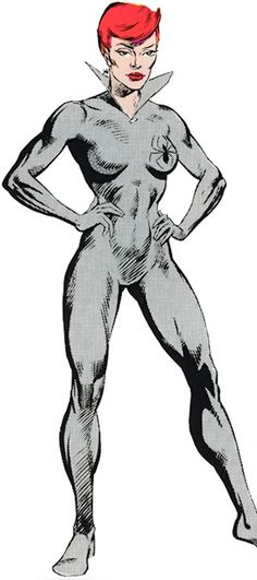 Black Widow - Natalia Romanova - Marvel Comics - SHIELD - 1980s
