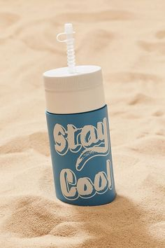 Stay Cool Retro Water Bottle