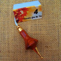 LIGHT PULL 4 Mexican Cocobolo Wood Fan by TreasuresFromTheTree