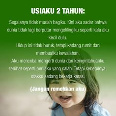 Satu sehari, tips permainan & pengasuhan anak, hanya di Chai's Play Kids Mental Health, Health Education, Kids Education, Parenting Quotes, Kids And Parenting, Parenting Hacks, Baby Quotes, Quotes For Kids, Family Rules