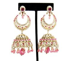 Imitation Designer Victorian Zhumka Bollywood Earring / AZERVE4006-GPI Arras Creations http://www.amazon.com/dp/B00KLS18ZC/ref=cm_sw_r_pi_dp_D6P4tb08X6D2M