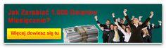 Jak zarabiać 1000 dolarów miesięcznie?  http://miroslawrychlewski.pl/