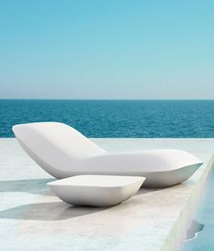 Looks comfortable enough for a week end nap ... Pillow by Vondom