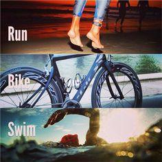 complete a triathlon